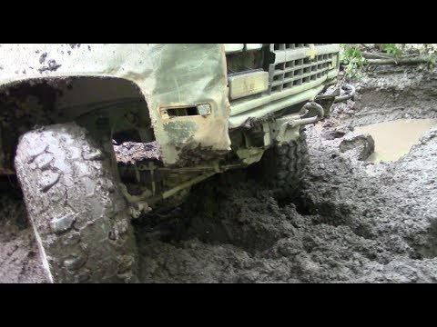 4x4 OFF-ROAD K5 BLAZER WINCH OUT by BSF Recovery Team