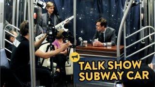 Talk Show Subway Car