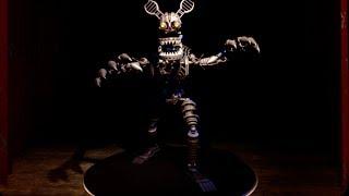 EXTRAS MENU AND SECRET ANIMATRONICS! | Five Nights At Freddy