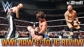 WWE Raw 5/30/16 Review: The Club Ruins John Cena's WWE Return, WWE 2K17 Goldberg Reveal Trailer