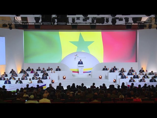PR Sall du Sénégal sur les défis de l'espace francophone