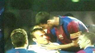 despedida de Guardiola como jugador del Barça