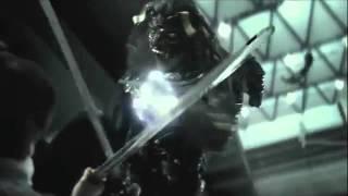 Kouga vs. The red-masked man [Garo vs. Black Garo]