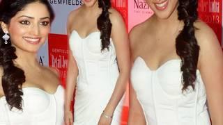 Hot yami gautam show her boobs,OMG!yami Gautam' Wardrobe malfunction