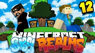 Minecraft: SKYREALMS CHALLENGE | MOB SPAWNER CHALLENGE!!