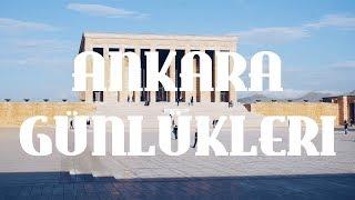 VLOG: Ankara | Anıtkabir - Mocaco Coffee | Part 1 #ANKARAgünlükleri