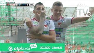 DVSC – ZTE FC | 3-2 | (2-1) | OTP Bank Liga | 3. forduló | MLSZTV