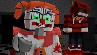 Minecraft - FIVE NIGHTS AT FREDDY'S: SISTER LOCATION #04 ‹ ELE ESTÁ MORTO? ›