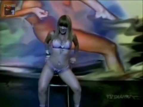 Tigresa Sheila mell absoluta no making off da areavip