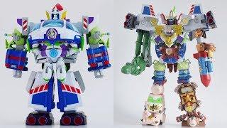 [TMT][447] Chogokin Toy Story - Buzz The Space Ranger Robo, Gangreat King! バズ・ザ・スペースレンジャー ロボ