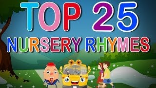 Top 25 Nursery Rhymes | English Nursery Rhymes Collection for Children n Babies