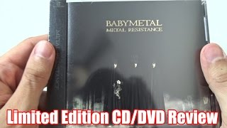 BABYMETAL Metal Resistance CD/DVD Limited Edition Review