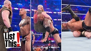 5 shortest WrestleMania matches: WWE List This!