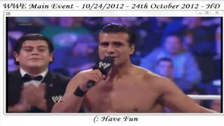 WWE Main Event Highlights - 24/10/2012 - 24th October 2012 - HDTV 720p