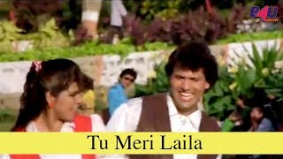 Tu Meri Laila | Full Song | Kaun Kare Kurbanie | Govinda, Anita Raj | HD
