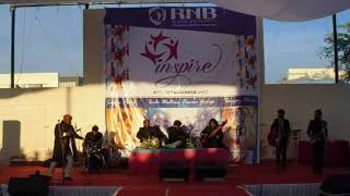 Live performance by Swaraag Band during Inspire-2017