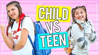 TEEN vs CHiLD: Last Day of School