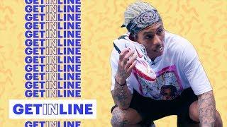 Racks Goes To Supreme For a Pair of Nike Zoom Streak Spectrum Plus| Get In Line