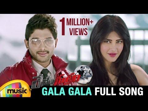 Race Gurram Video Songs   Gala Gala Full Song   Allu Arjun   Shruti Haasan   S Thaman   Mango Musi