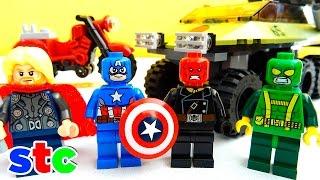 LEGO Marvel Superheroes Avengers Capitan America vs Hydra