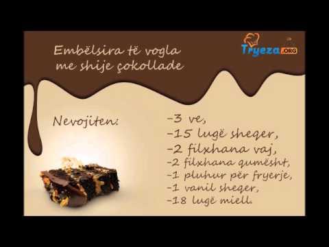 Receta Gatimi Embëlsira të vogla me shije çokollade Tryeza