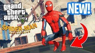 ULTIMATE SPIDERMAN MOD!! (GTA 5 Mods)