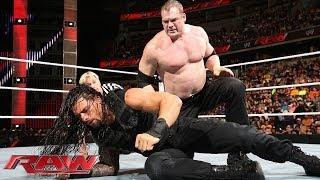 Kane vs. Roman Reigns - WWE App Vote Match: Raw, March 31, 2014