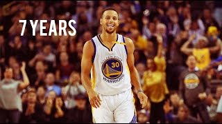 7 Years | Curry Vs Pelicans | 2016-2017 NBA Season