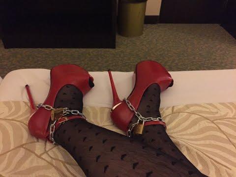 Xxx Mp4 Crossdressing Locked In High Heels 3gp Sex