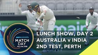 Matchday LIVE | 2nd Test | day 2 | lunch
