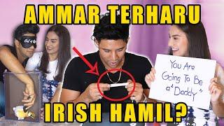 AishLoveStory Ammar Terharu Irish Hamil
