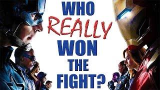Team Stark VS Team Cap - Who REALLY Won the Fight?
