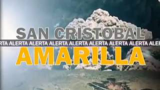 Alerta Amarilla en Chinandega por erupción del volcán San Cristóbal