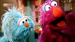 Rosita Telly Sign Language-Sesame Street