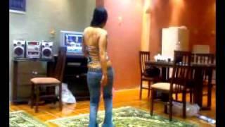 رقص منزلي جنان