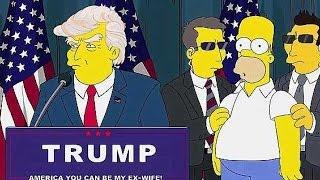 [Reupload] W serialu Simpsonowie już 15 lat temu przewidziano prezydenturę Donalda Trumpa