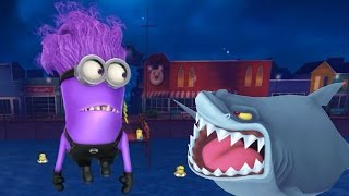 Despicable Me 2: Minion Rush Trickster Stories Evil Minion Shark Minion New Location Pier 12