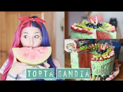 ¡TORTA SANDíA ✩ ComandoHappyWeekend Ann Look