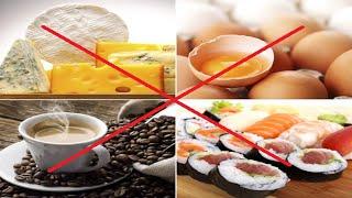 اكلات ممنوعة للحامل ويجب تجنبها