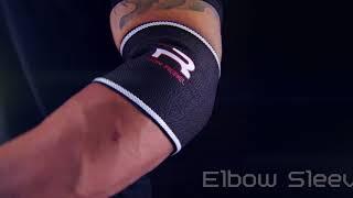 New Black & White Elbow Sleeves | Iron Rebel