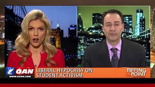 Democrat displays the left
