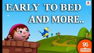 Early To Bed | Periwinkle Introductory Nursery Rhymes For Kindergarten & Cartoon Songs for Kids