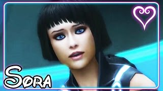Kingdom Hearts 3D All Cutscenes | Game Movie | Tron ~ The Grid | Sora