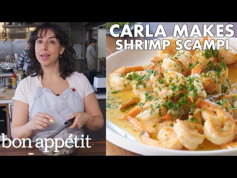 Xxx Mp4 Carla Makes BA S Best Shrimp Scampi From The Test Kitchen Bon Appétit 3gp Sex