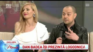 Dan Badea isi prezinta logodnica