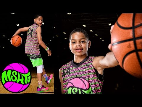 13 Year Old Malik Nelson has TOO MUCH SAUCE - MSHTV Camp 2016