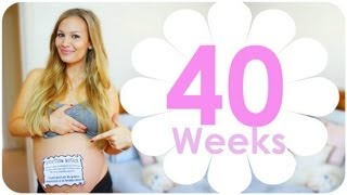 40 WEEK PREGNANCY VLOG!