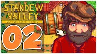 Stardew Valley Part 2: Pastinaken-Saat, KISTE craften & RASTER beim Angeln!