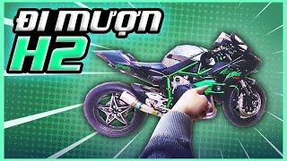 GIA HUY VLOG - Đi mượn Kawasaki Ninja H2 để làm clip review