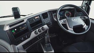 UD Trucks – 新型Quon(クオン):  Driver environment 運転操作・機能説明